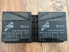 CANTON RS 6 II 3-way crossover network. Made In Germany.