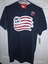 New England Revolution Major League Soccer Revs short sleeve T-shirt MLS NEW M