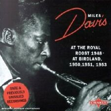Miles Davis At The Royal Roost 1948/Birdland 1950, 1951, 1953 CD NEW SEALED Jazz