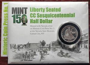 1870 Liberty Carson City Limited Sesquicentennial Half Dollar Silver CC 2020