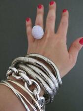 Snakeskin Bendy Cuff Bracelet Necklace Flexible Snake Skin Cool