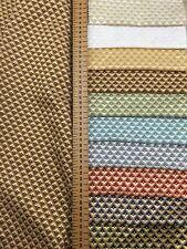 Halifax Designer Vorhang Brokat Damast Polster Weich Dekostoff