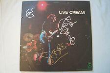 Cream - Live Cream - Vinyl LP - Personally signed by Clapton,Bruce,Baker - w/COA