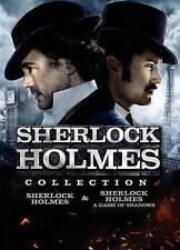 2 movies: Sherlock Holmes 1 & 2 A Game of Shadows, DVD set, Robert Downey Jr