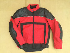 """J&S Mens Textile Motorbike Motorcycle Jacket Size UK 38"""" Chest   C62"""