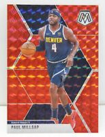 Paul Millsap 2019-20 RED MOSAIC PRIZM Veteran Card #181 Denver Nuggets NBA ????