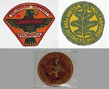 Philadelphia Council (PA) Lot of 3 Activity Patches  BSA  #051