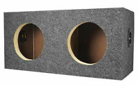 "Rockville RD65 Dual Sealed 6.5"" MDF Subwoofer Box Enclosure 0.60 cu ft. Per Sub"