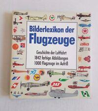 Bilderlexikon der Flugzeuge Geschichte der Luftfahrt 1842 farbige Abbildungen