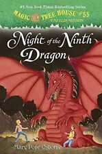 Magic Tree House #55 Night Of The Ninth Dragon by Mary Pope Osborne (Hardback, 2016)