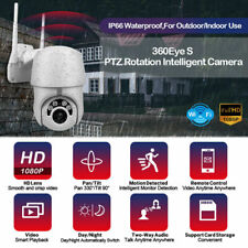 1080P HD IP CCTV Camera Surveillance WiFi 5MP Security IR Cam 8xZoom DE
