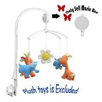 1X Rotary Baby Mobile Babybett Spielzeug Uhrwerk Musik Box Kinderbett Wäsche Toy