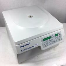 Eppendorf 5417C Centrifuge w/ F45-30-11 Rotor & Lid, Working Microcentrifuge