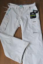 Women's Trespass ski snow trousers ivory -white color size L BNWT