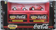"Matchbox Collectibles – VW Käfer & New Beetle ""Coca-Cola / Coke"" Neu/OVP"