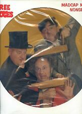 THREE STOOGES madcap musical nonsense PICTURE DISC US NEAR MINT LP