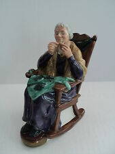 """ROYAL DOULTON PORCELAIN FIGURINE """"A STITCH IN TIME"""", HN2352, RETIRED"""