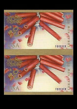 US 4726a Lunar New Year Snake imperf NDC vert pair MNH 2013