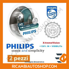 2 LAMPADINE H1 X-TREME VISION PHILIPS FIAT BRAVO I 1.9 JTD 105 KW:77 1998>2001 1
