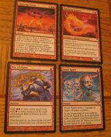 Red Magic the Gathering Casual Lot, LP - MP, Coldsnap, Multiplayer Serpent Storm