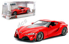 JADA  JDM TUNER IMPORT TOYOTA FT-1 CONCEPT DEBUTE RED 1/24 DIECAST CAR 98416 NEW