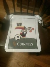 Guinness Vinyl Banner. Brand New. Approx. 19' from banner to banner.