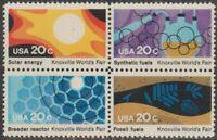 Scott# 2006-09 - 1982 Commemoratives - 20 cents Knoxville World's Fair Block