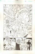 Flash #952 p.13 - Evil Magician Explosion Splash - Wally - art by Jason Johnson