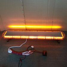 "46"" 96 LED Flashing Recovery Light Emergency LightBar Warning Amber LED LightBar"
