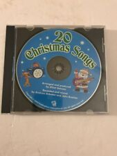 20 Christmas Songs Only CD AND CASE Tested Rare Vintage Ships N 24hrs