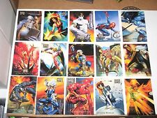 1996 MARVEL MASTERPIECES BASE SINGLE CARDS! AVENGERS Genesis Duels BORIS JULIE!