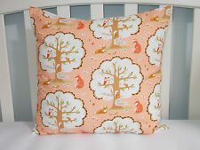 Michael Miller Les Amis - Friends of the Forest Cushion Cover, fox, deer, owl