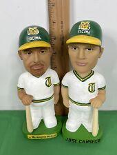 1985 Mark McGwire & Jose Canseco Minor League BobbleHeads  Tacoma Tigers