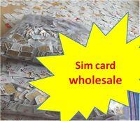 Lot 100 -1000 Nano or Micro sim cards Sprint Verizon AT&T T-mobile US Cellular