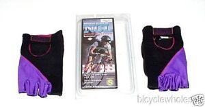 Champion Lycra Purple Cycling Gloves / X Large NEW!