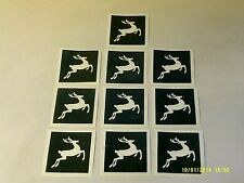 "10 - 400 Reindeer stencils for window decoration - snow spraying 4"" x 4"""
