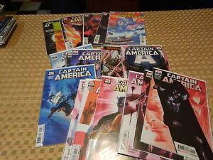 Captain America 1 -  22 Complete Run  2 3 4 5 6 7 8 9 10 11 12 13 14 15 16 17 18