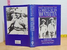 The Diaries Of Lord Louis Mountbatten 1920-1922 (1987, Hardcover) BCE