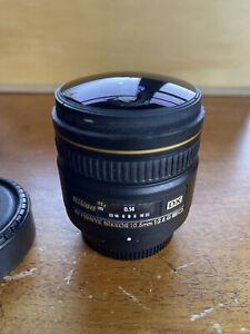 Nikon AF-D 10.5mm f/2.8 DX ED Lens