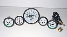 Willys Jeep MB GPW CJ Gauges Kit Speedometer MPH KPH Temp Oil Fuel Amp Gauge
