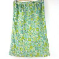 1950s skirt knee length vintage dress Evening Dress floral Handmade Rockabilly