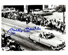 Mickey Mantle autographed signed 8x10 photo New York Yankees PSA LOA The Mick