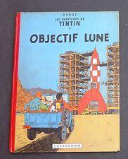 Hergé. Tintin. OBJECTIF LUNE. Casterman 1953, B8. Edition originale belge