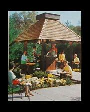 Barbecue Cookout Gazebo TeaHouse Timber Frame HowTo build PLANS
