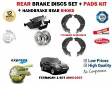 para Hyundai Terracan 2003-2007 NUEVO Juego freno disco trasero + kit + ZAPATAS
