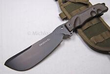 FOX Knife - FX-0107153 Parang Bushcraft Survival Knife w/ Survival Kit  (F43)