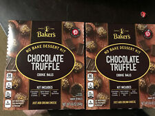 2 Bakers No Bake Dessert Kit Chocolate Truffle Cookie Balls november ,2020