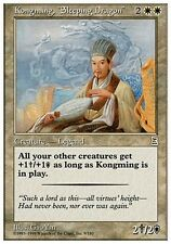 Kongming, Sleeping Dragon - Portal Three Kingdoms - Magic Mtg -