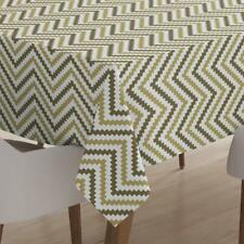 Polyester Tablecloth Cover Mat 6 feet Long for Center Dining Table