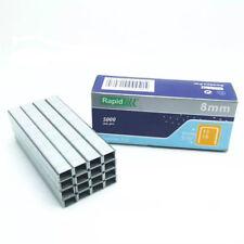 RAPID porte type fin câble agrafes 5000pcs 8mm W : 10.6mm x l: 8 mm D 7mm 1008F